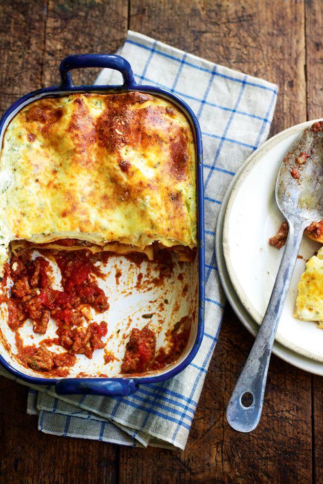 Slimming World's beef lasagne