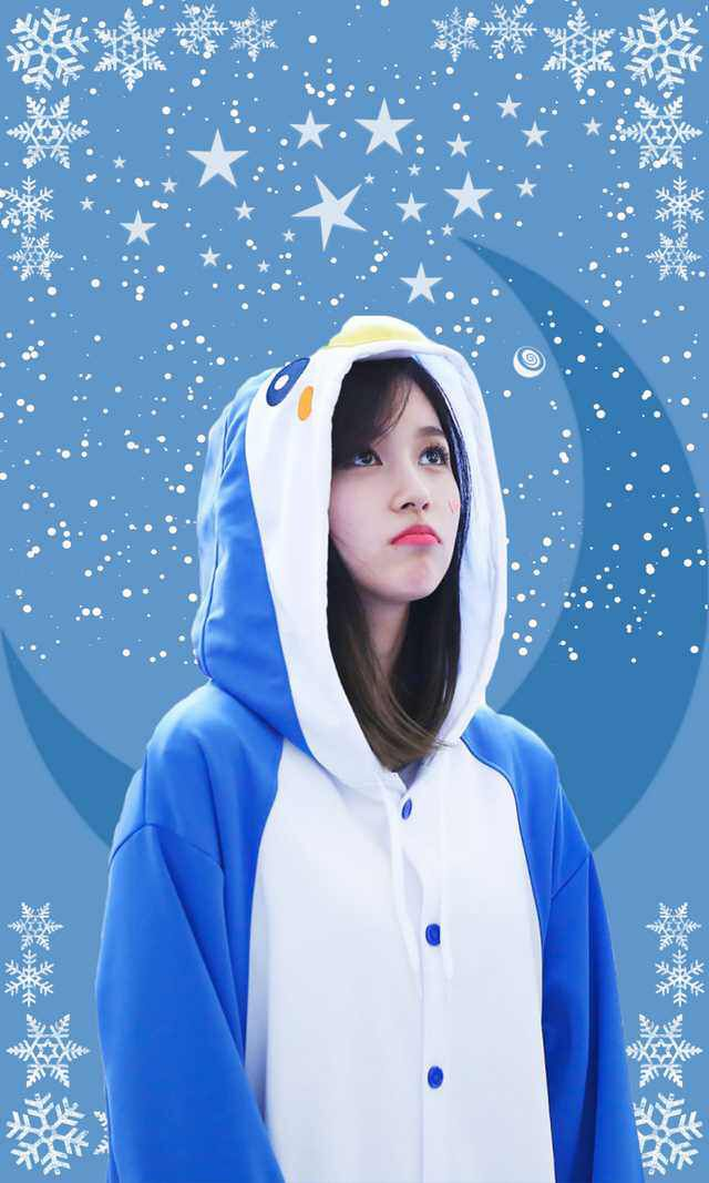 Twice Mina Lockscreen Wallpaper Mina Penguin Wallpaper Penguin World