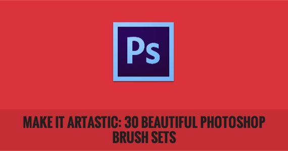 Make it Artastic: 30 Beautiful Photoshop Brush Sets
