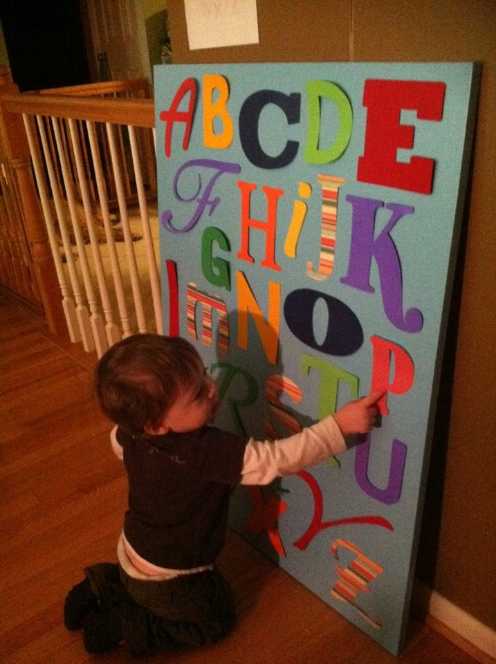25 best ideas about felt letters on pinterest templates for Flannel board letters