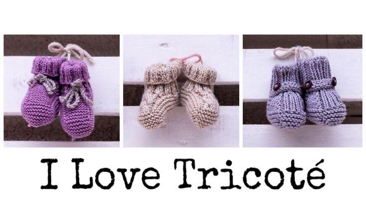 ❤️ Preciosos patuquitos  diseñados y tejidos por I Love Tricoté ❤️