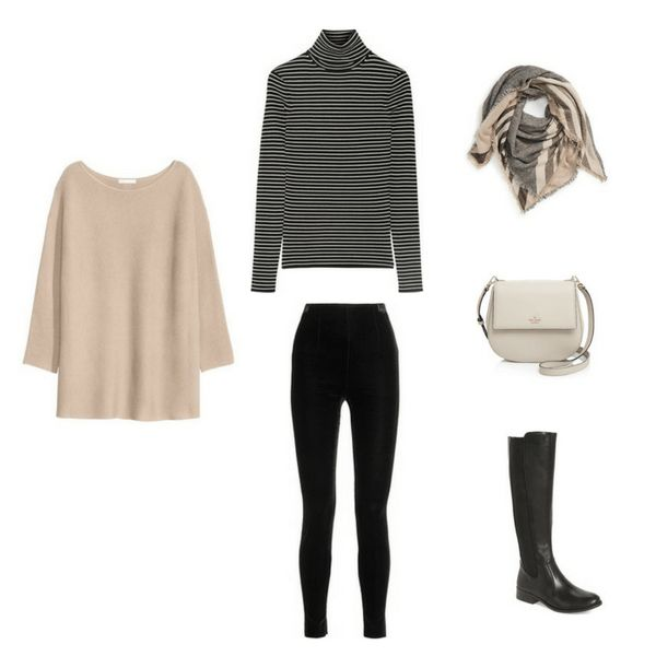 Outfit 28 - The French Minimalist Capsule Wardrobe: Winter 2017 Collection