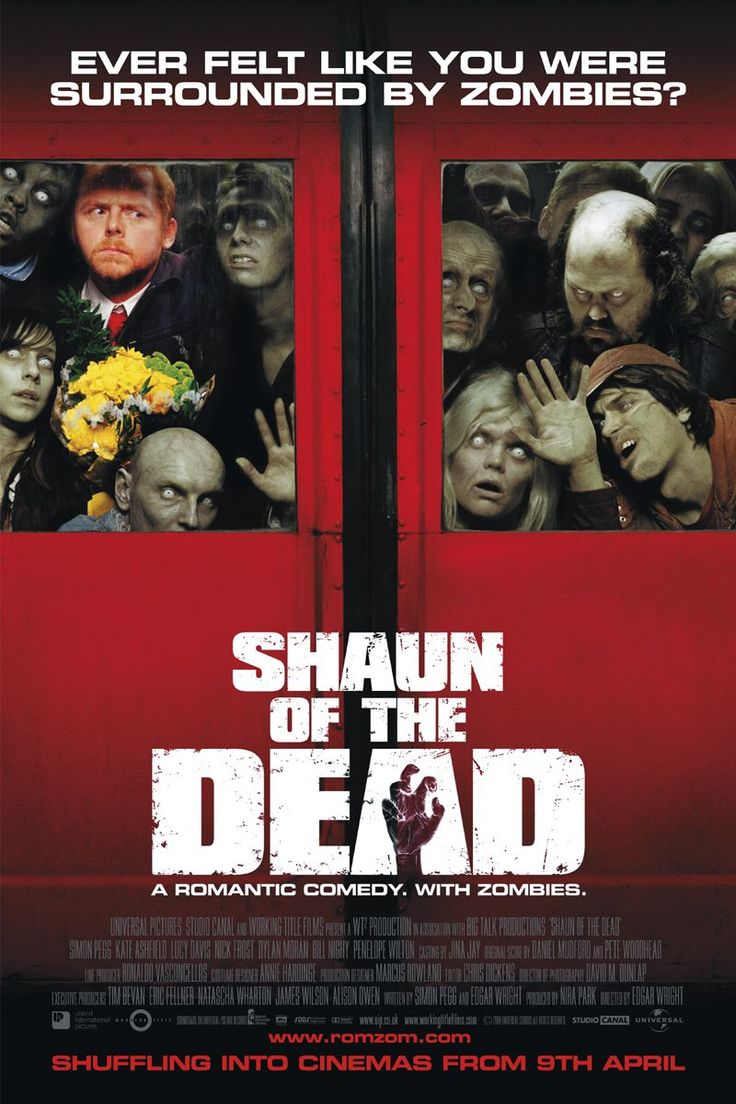 SHAUN OF THE DEAD movie review starring Simon Pegg, Nick Frost, Bill Nighy, Kate Ashfield, Lucy Davis, Penelope Wilton, and Dylan Moran!