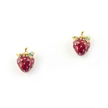 Summer Strawberry Earring