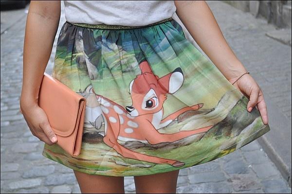 #bambi #disney #skirt #dear