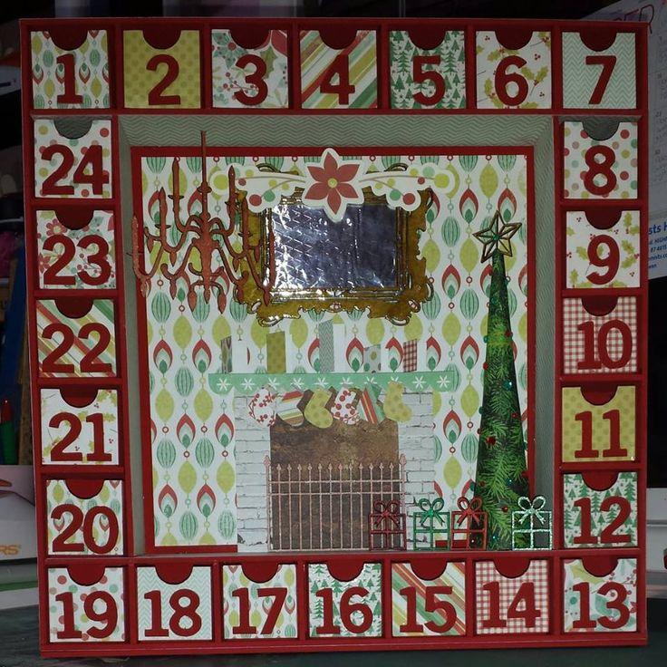 BTP Advent Calendar - Kaisercraft Mistletoe collection ~Karyn Watton