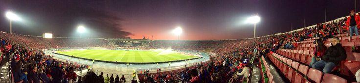 Semifinal Chile-Perú (2-1), Estadio Nacional