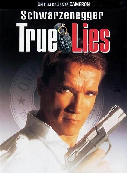 """True Lies""...Arnold Schwarzenegger & Jamie Lee Curtis Shine In This Great Comedic Drama....He's A Spy, Yet She Has No Clue...Until...Oh, Just Rent It!!  You'll End Up Owning It Like I Did...Super Movie...Spoiler....The Hotel Scene Is Simply Cinema At Its' Very Best....LOved It...All 150 Times!!"