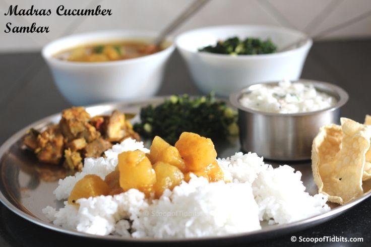 Madras Cucumber Sambar