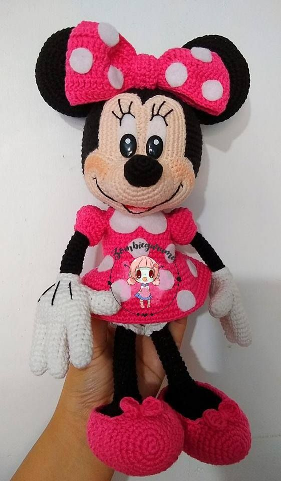 Best 12 Minnie Mouse Crochet Pattern About 14 Inches Tall