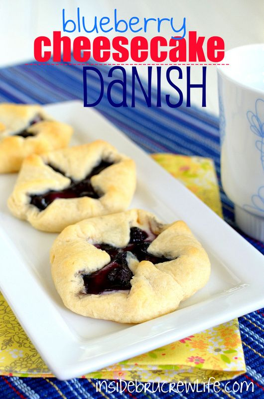 Blueberry Cheesecake Danish on MyRecipeMagic.com