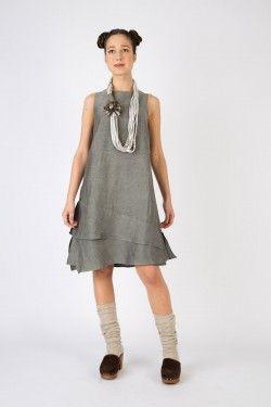 art 57 dress olivina www.lospaventapasseri.it