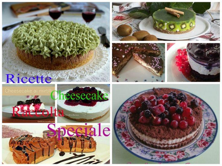 #gialloblogs #ricetta #foodporn Ricette Cheesecake-Raccolta speciale | In cucina con Mire