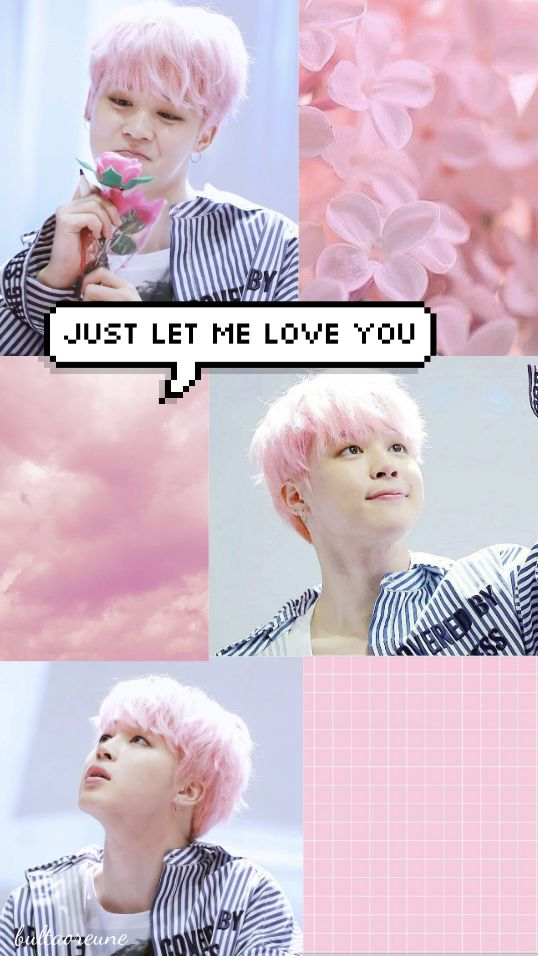 Jimin Pink Aesthetic Wallpaper Aesthetic wallpapers
