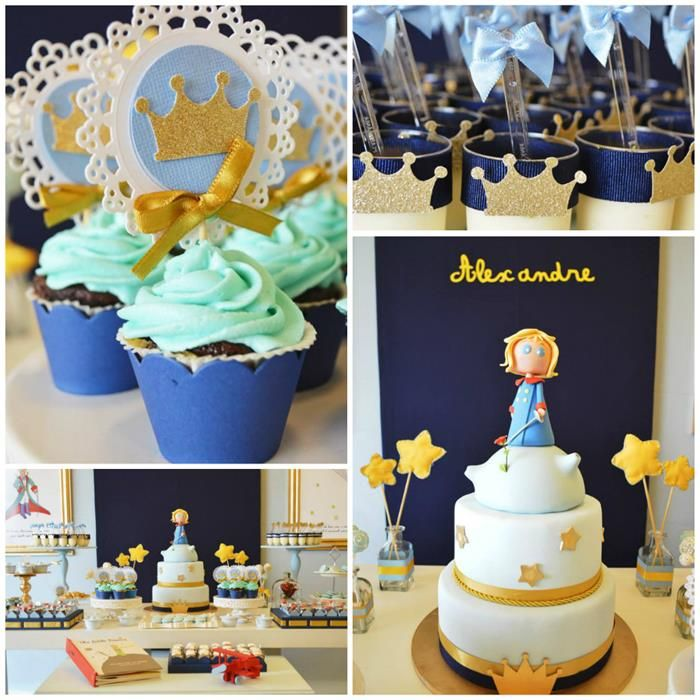 Little Prince Party with So Many Cute Ideas via Kara's Party Ideas KarasPartyIdeas.com #PrinceParty #PartyIdeas #Supplies (1)