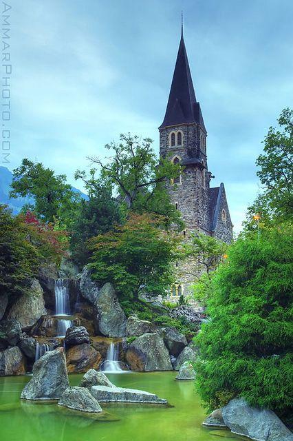 Japanese friendship garden, Interlaken, Switzerland