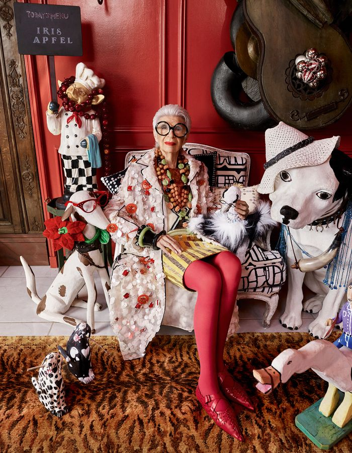 Style icon Iris Apfel puts her personal stamp on Damian Foxe's selection of the season's standout pieces. Photography by Luis Monteiro. PLUS: BEHIND-THE-SCENES VIDEO