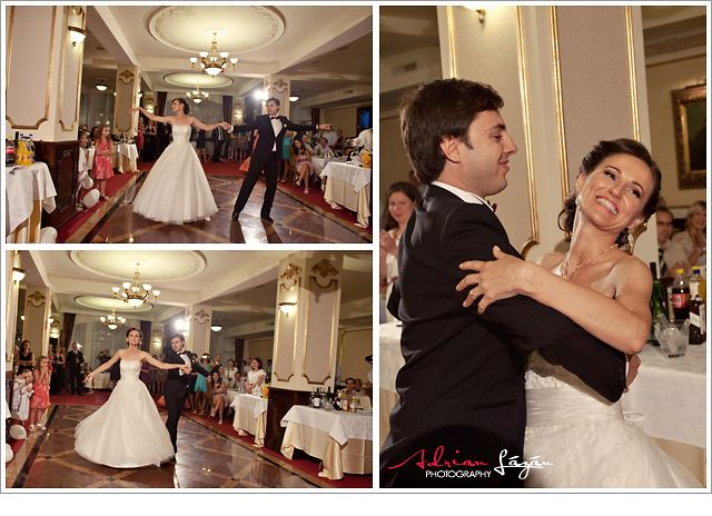 and ... the first dance