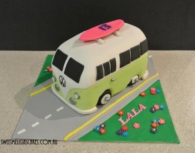 Kombi Van Cake Topper