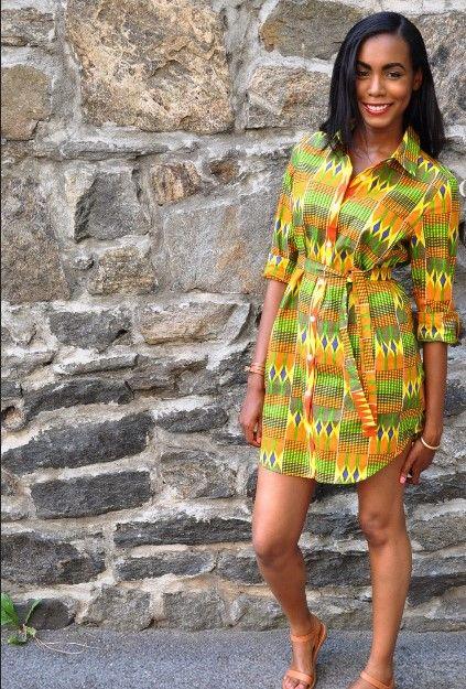 african attire maternity short dresses ~DKK ~African fashion, Ankara, kitenge, African women dresses, African prints, African men's fashion, Nigerian style, Ghanaian fashion.