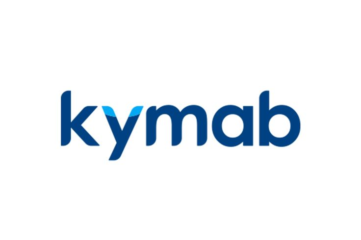 Logo refresh for biopharmaceutical company Kymab. Full case study: http://www.onespacemedia.com/projects/Digital-transformation-global-life-science-innovat #branding #webdesign