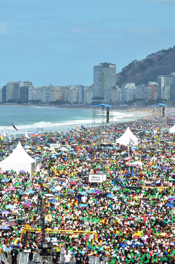 Final Mass of the Holy Father on the Copacabana beach