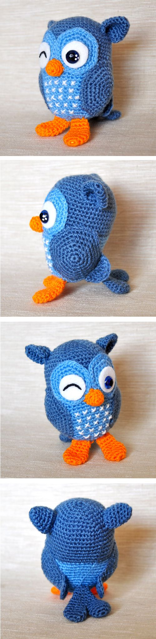 Chica outlet - free pattern owl JIP - My version