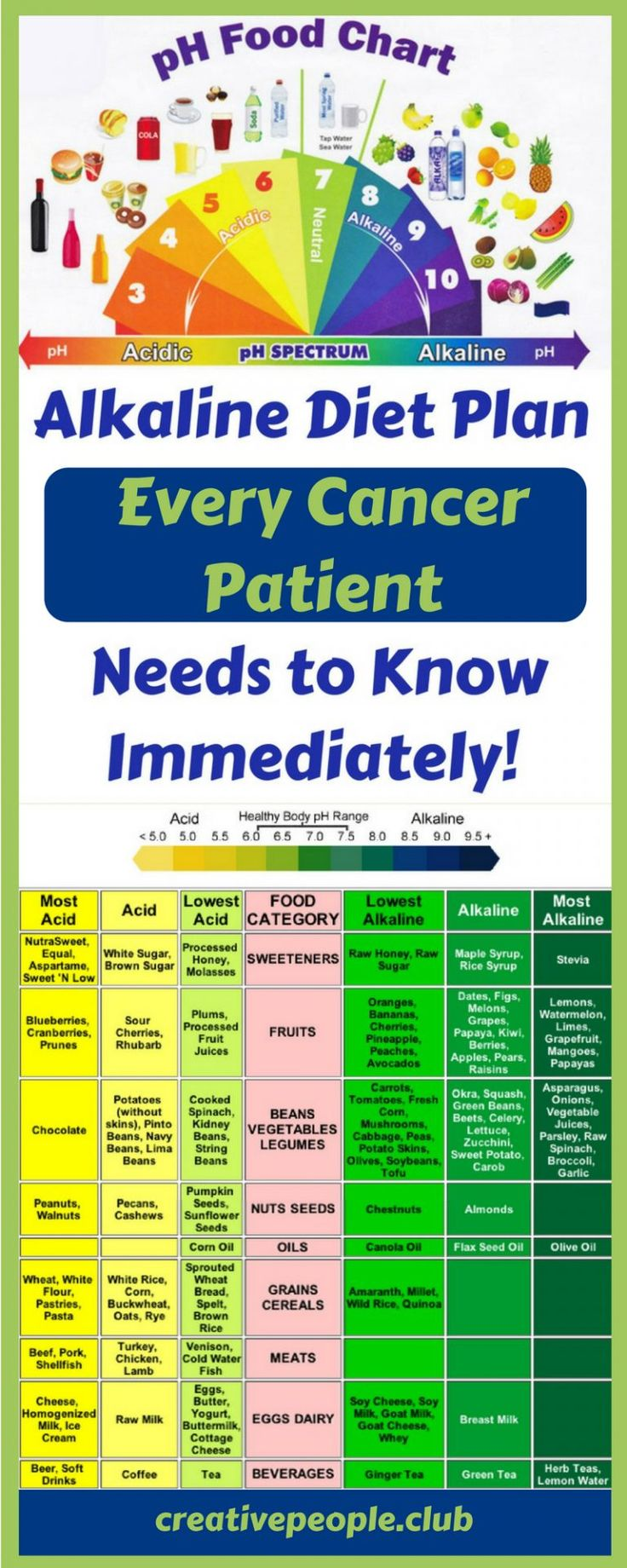 Alkaline Diet Plan – Every Cancer Patient Needs to Know It Immediately! – Cr...