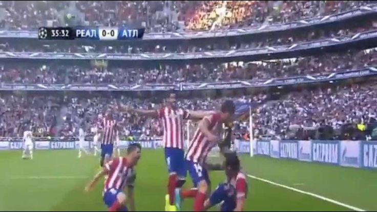 Реал Мадрид   Атлетико Мадрид 4 1  Гол Диего Годин Лига Чемпионов Финал ...