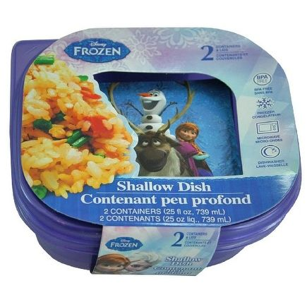 Disney Frozen Food Containers and Snack Boxes