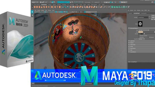 Autodesk Maya 2019 Free Download Autodesk Maya 2019 Overview Autodesk Maya 2019 Is A Ground Breaking Application Which Will G Autodesk Free Download Maya