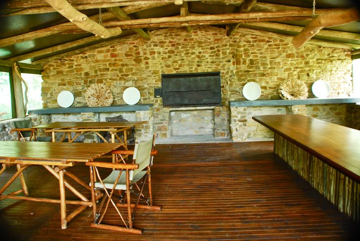 Inside the Day Trip Center at Forest Camp in Sibuya Game Reserve, Eastern Cape, South Africa www.sibuya.co.za