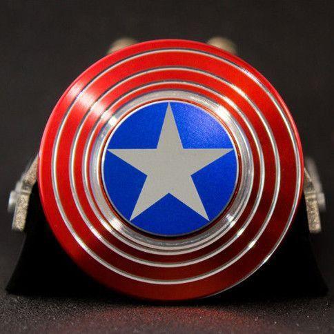 New 2017 Fidget Toy Hand Spinner Captain America Shield Toda la información y productos especializados para el la raza perro maltés