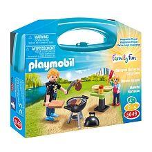 Playmobil - Mallette Transportable de Barbecue