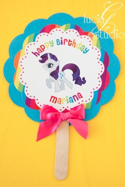 My Little Pony party decorations by CarolinaBarbosa