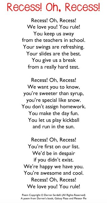 25+ best ideas about Kids poems on Pinterest | Children poems ...