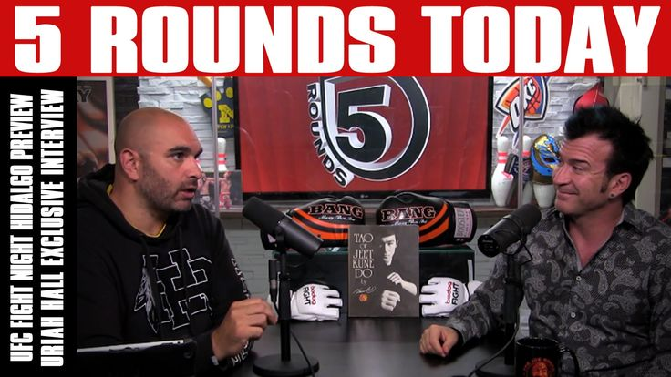 UFC Fight Night Hidalgo Preview, Uriah Hall Interview & More on 5 Rounds...