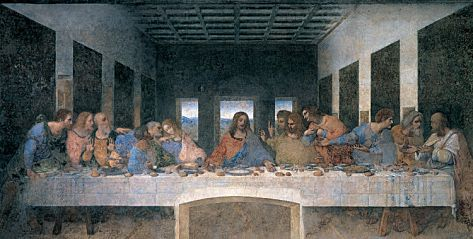 The Last Supper Leonardo da Vinci: Giclee Fine Art Print. #da_vinci #last_supper #art_print