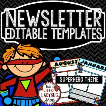 The 25+ best Class newsletter template ideas on Pinterest Parent - school newsletter templates