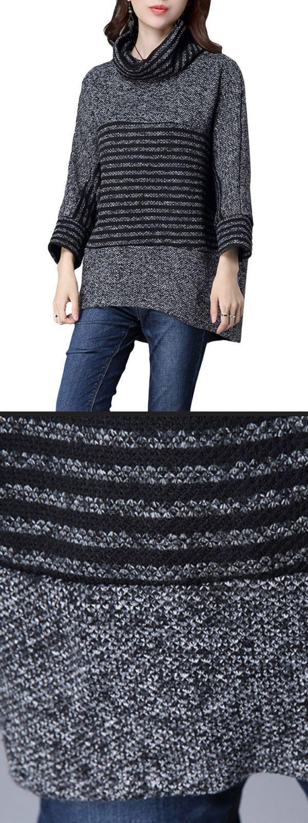 Long Sleeve Loose Sweater Sweaters