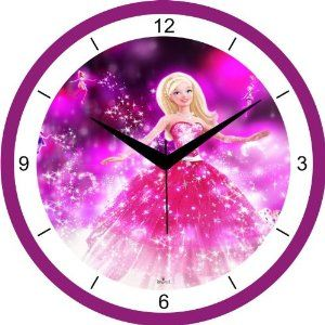 Barbie Clock | Buy Regent Barbie wall clock Online at Low Prices in India - Amazon.in