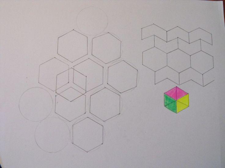 Geometric sketches i did