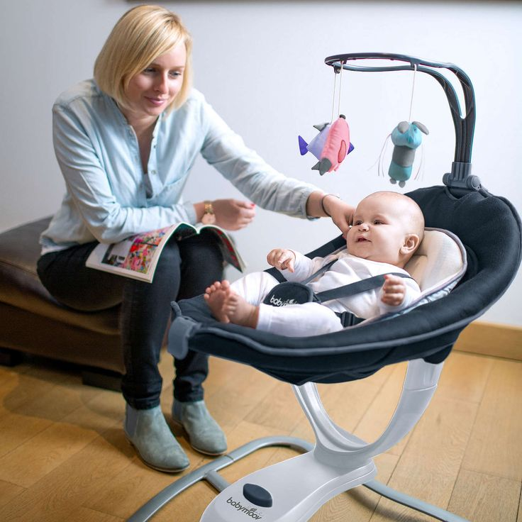 BuyBabymoov Swoon Motion Baby Swing, Zinc Online at johnlewis.com