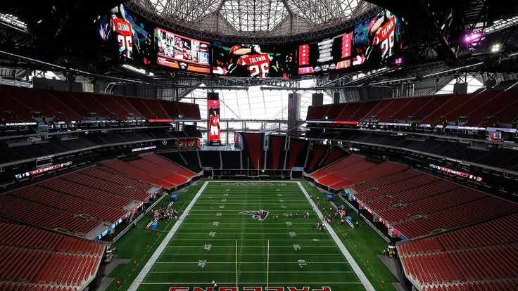 Take a tour of the new Mercedes-Benz Stadium with The Falcoholic - The Falcoholic