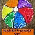 Loved this tissue paper craft! Science at the beach & more kids activities
