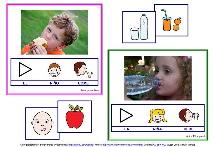 El libro de los niños - Lámina 1 http://informaticaparaeducacionespecial.blogspot.com.es/2009/05/libros-para-hablar-libro-de-los-ninos.html