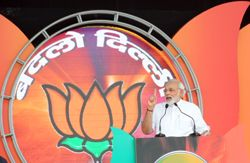 Amid the presence of massive crowds at the Vikash rally organized by Delhi BJP, BJP's prime ministerial candidate Narendra Modi target the chief minister of Delhi Sheila Dikshit and mocked her with his comments. He said that the post of chief minister of Delhi is full of comfort where cm has nothing to do except with cutting or ribbon.