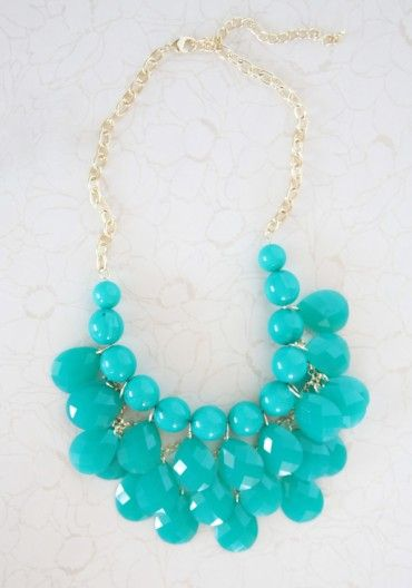 hidden gem bib necklace