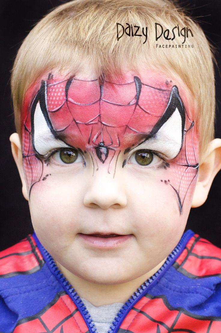 die besten 25 schminken spiderman ideen auf pinterest. Black Bedroom Furniture Sets. Home Design Ideas