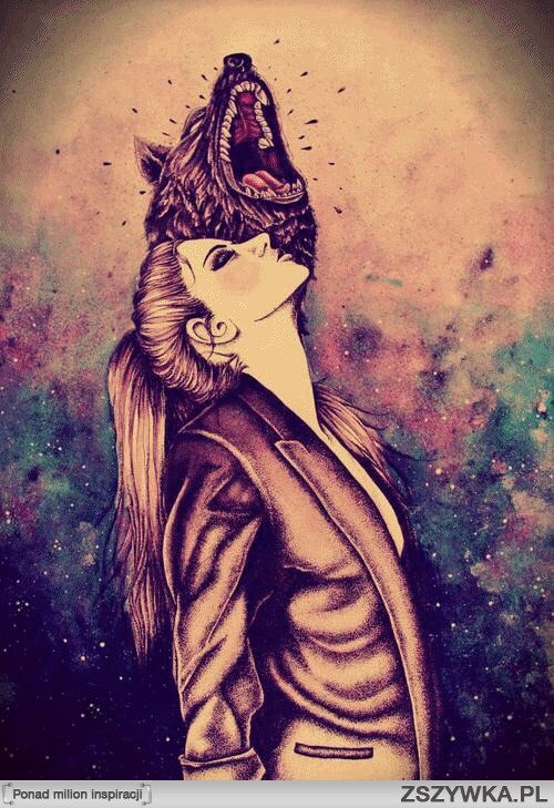 she's a wolf